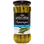 Always Fresh Marinated Crisp Asparagus 340g