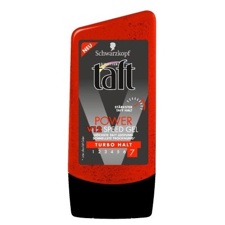 Taft Power V12 Speed Gel Turbo Hold 7 (150ml)
