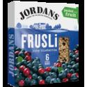 Jordans Frusli Juicy Blueberries Cereal Bars 6x30g