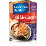 American Garden Foul Medammas Peeled with Chili 400g