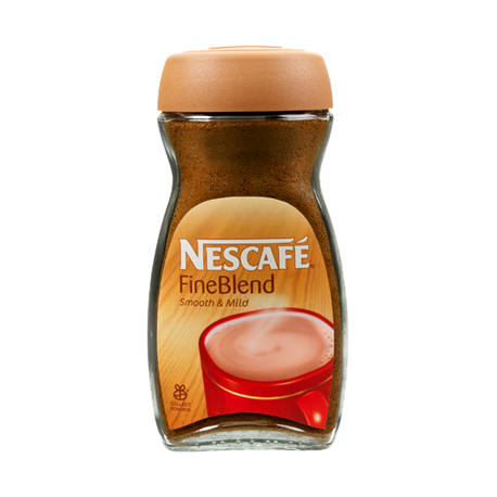 Nescafe Fine Blend Smooth & Mild Coffee 100g