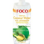 Foco Pure Coconut Water with Pineapple 500ml
