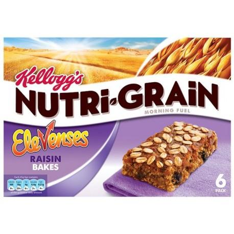 Kellogg's Nutri-Grain Raisin Bakes 6x45g