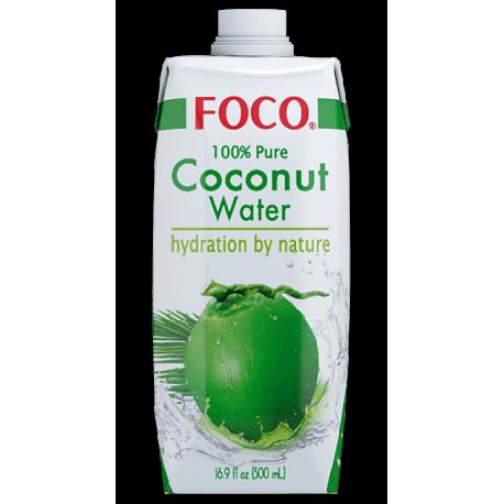 Foco Pure Coconut Water Natural 500ml