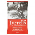 Tyrrell's Sweet Chilli & Red Pepper Handcooked English Crisps 150g