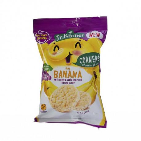 Jr. Korner Mini Rice cakes Crunchy with Ripe Banana 30G Gluten Free
