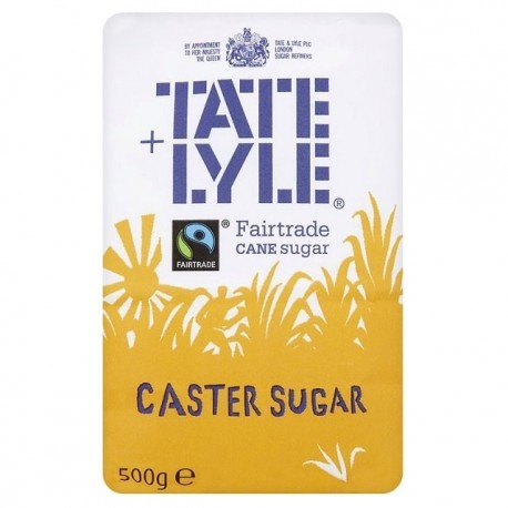 Tate Lyle Caster Sugar 500g