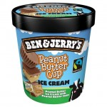 Ben & Jerry's Peanut Butter Fudge Core Ice-Cream 473ml