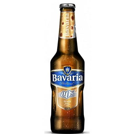 Bavaria Holland 0.0% Peach Malt Drink 330ml