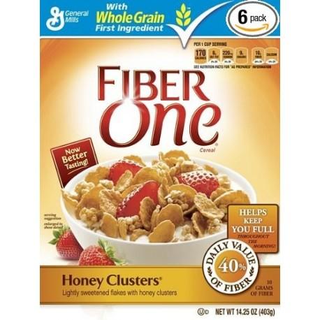 General Mills Fiber One Honey Clusters 403g