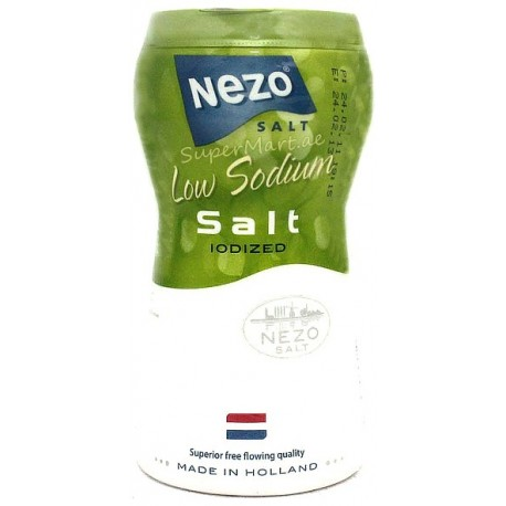 Nezo Low Sodium Salt Iodized 450g
