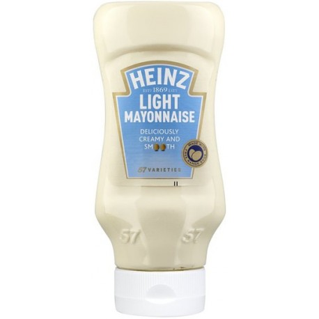 Heinz Incredibly Light Mayonnaise Squeeze 225ml