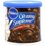 Pillsbury Creamy Supreme Chocolate Fudge Frosting 453g
