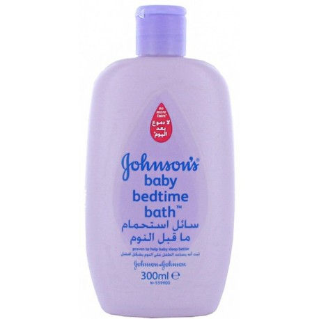Johnson's Baby Sleeptime Bath 300ml