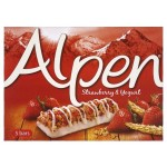 Alpen Strawberry & Yogurt Cereal Bars 5 x 29g