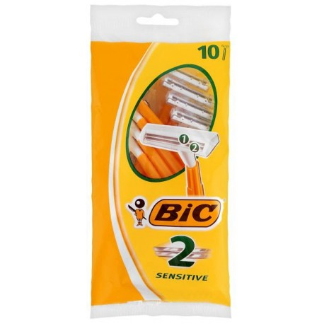 Bic 2 Blade Disposable Razors 5+1 Sensitive
