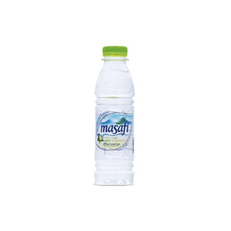 Masafi Touch of Mint & Lemon Flavoured Mineral Water 500ml