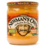 Newman's Own Medium Salsa Con Queso 453g
