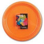 Fun 25 Citrus Colored Plastic Plates 22cm