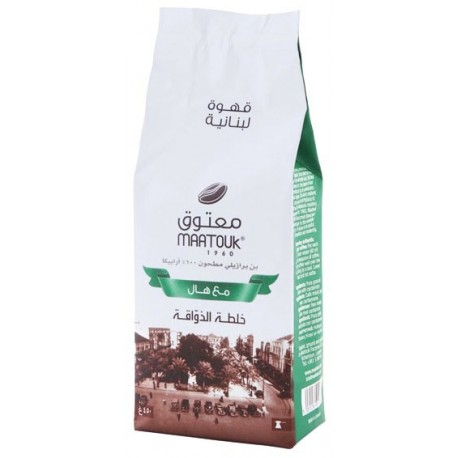 Maatouk Lebanesse Coffee Gourment Blend with Cardamom 250g