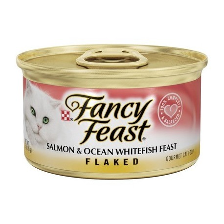 Fancy Feast Salmon & Ocean Whitefish Feast