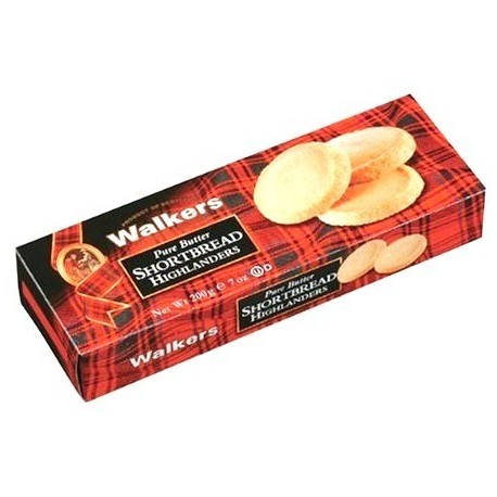 Walkers Shortbread Pure Butter Highlander 200g