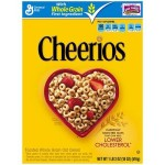 General MIlls Cheerios Toasted Wholegrain Oats Cereals 252g