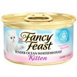 Fancy Feast Tender Ocean Whitefish Feast Kitten 85g