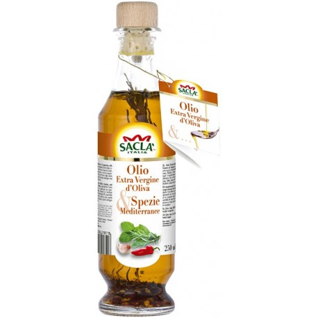 Sacla Spezie Mediterranee Extra Virgin Olive Oil 250ml