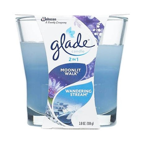 Glade Moonlit Walk & Wandering Stream 2in1 Candle 113g