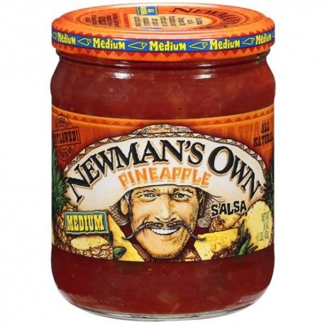Newman's Own Pineapple Medium Salsa 453g