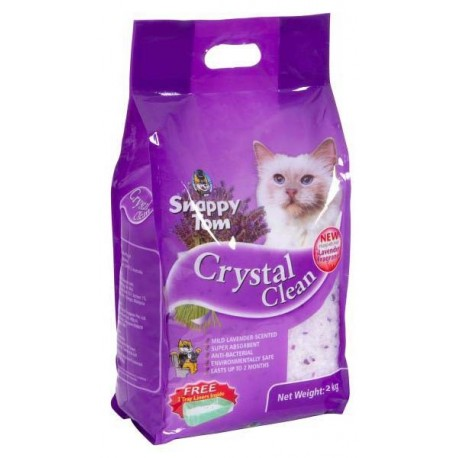 Snappy Tom Crystal Clean Lavender 2kg