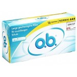 O.B. Pro Comfort 16 Tampons Normal