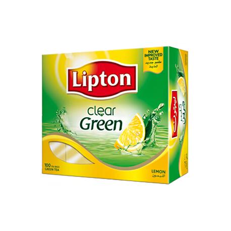 Lipton Green Tea Lemon Tea Bags 100