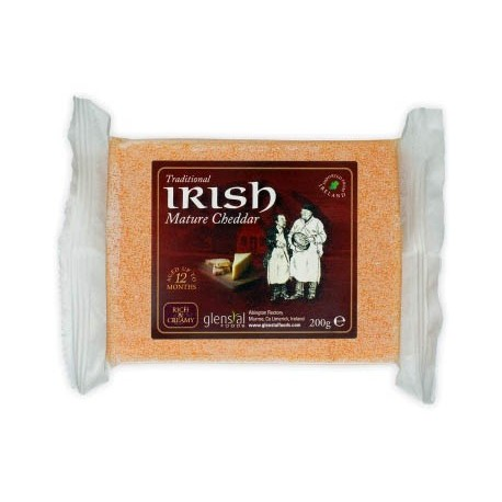Glenstal Irish Mature Coloured Cheddar 200g