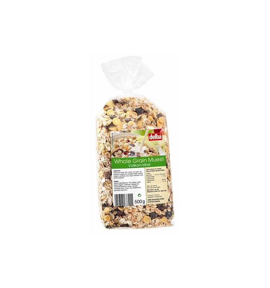 Whole grain muesli