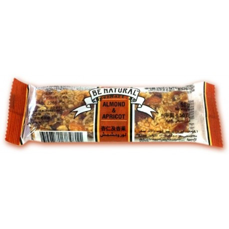 Be Natural Almond & Apricot 50g