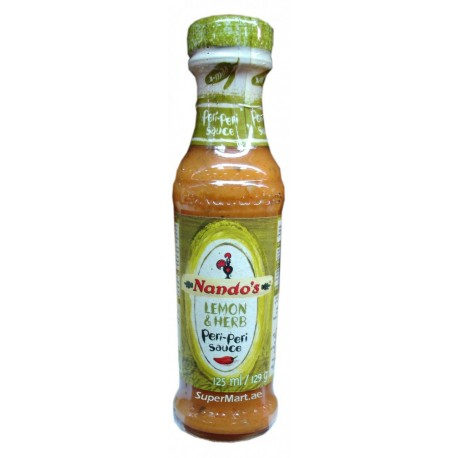 Nando's Lemon & Herb Peri-Peri Sauce 125ml