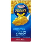 Kraft Macaroni & Cheese Dinner Three Cheese 206g
