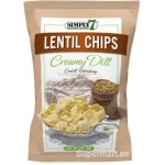 Simply 7 Lentil Chips Creamy Dill 113g