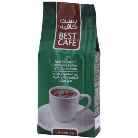 Bestcafe Lebanese Ground Coffee with Cardamom250g