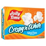 Jolly Time Crispy'n White Natural Flavor Popcorn 298g