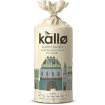 Kallo Lightly Salted Wholegrain Low Fat Rice Cakes 130g