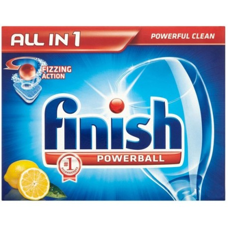 Finish Powerball All in 1 x 14 Lemon 277g