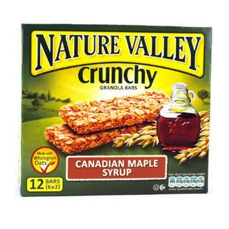 Nature Valley Canadian Maple Syrup 10 bars 5x2