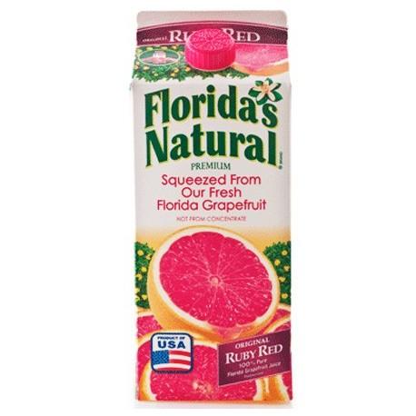 Florida's Natural Ruby Red Grapefruit Juice 900ml