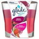 Glade Fresh Berries Wild Raspberry Candle 113g