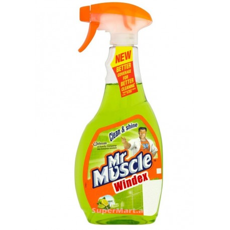 Mr.Muscle Glass Cleaner Lime 750ml