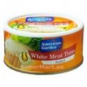 American Garden White Meat Tuna Solid in Sunflower Oil 185g