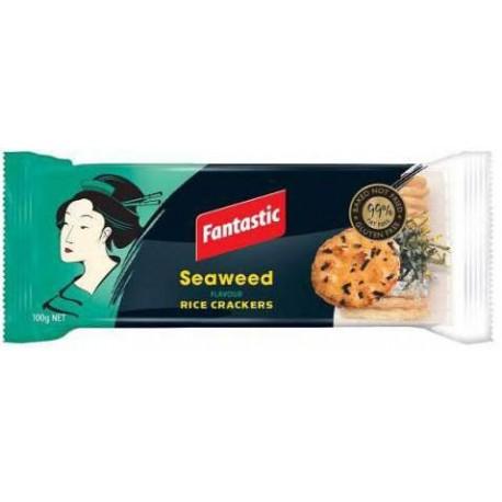 Fantastic Seaweed Rice Crackers 100g